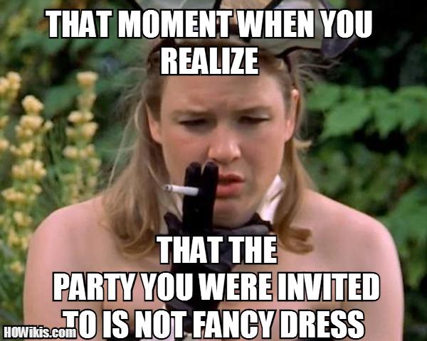 Fancy Meme: Dress Up On Themed Party