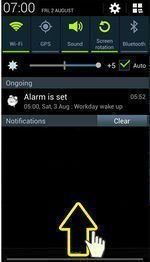 Use the Notification and Quick Setting Panel on Samsung Galaxy S4