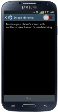 Turn On Screen Mirroring on Samsung Galaxy S4 and Share Your Phone's